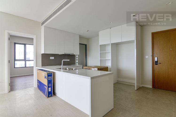 Nhà Bếp Cho thuê căn hộ Diamond Island - Đảo Kim Cương 3PN, không có nội thất, view sông và Landmark 81