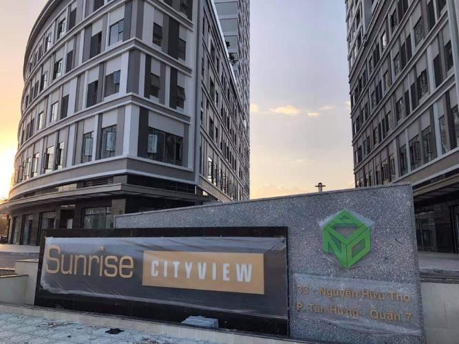 Bên ngoài tòa nhà Officetel Sunrise CityView  Cho thuê căn hộ Officetel Sunrise CityView diện tích 35m2