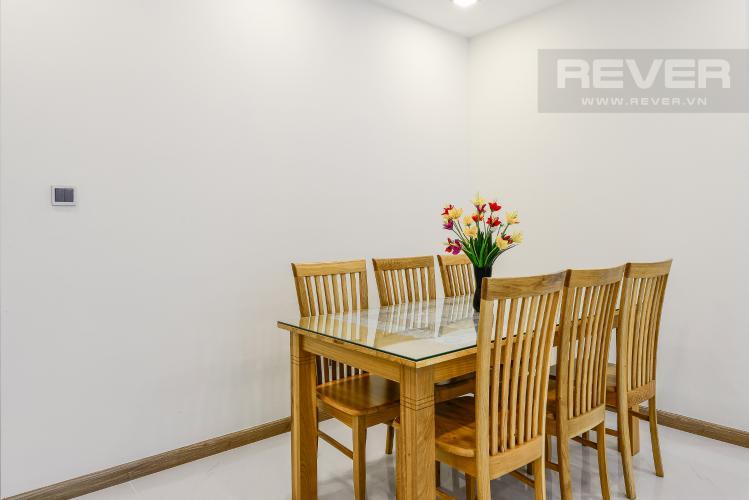 Phòng Ăn Căn hộ Vinhomes Central Park 2 phòng ngủ tầng trung P7 đầy đủ nội thất