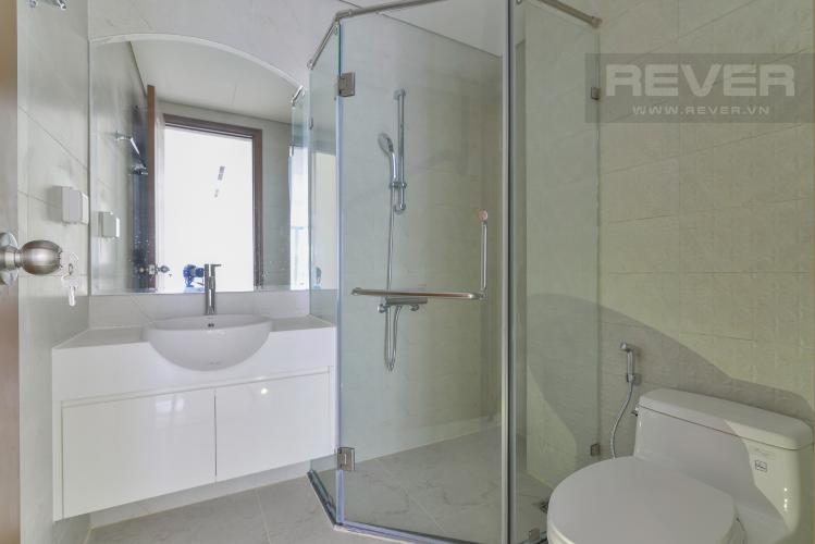 Phòng Tắm 1 Cho thuê căn hộ Vinhomes Central Park 3PN và 2WC, nội thất cơ bản, view nội khu
