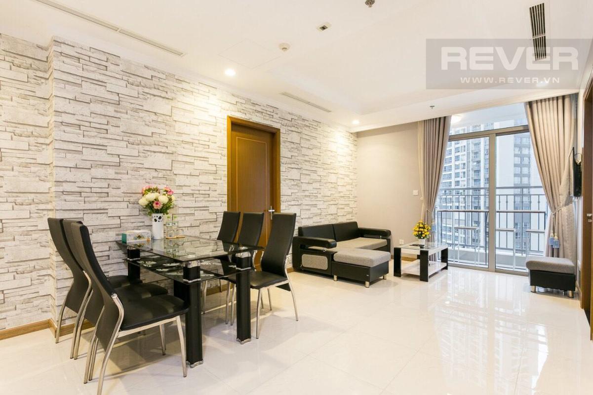 410b6240ec1d0a43530c Cho thuê căn hộ Vinhomes Central Park 3PN, tháp Landmark 2, đầy đủ nội thất, hướng Tây Nam