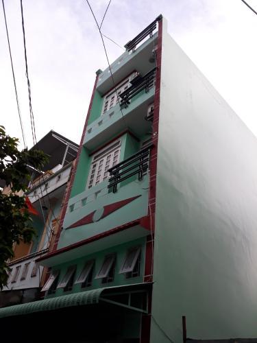 Nhà phố hướng Nam hẻm oto, sổ hồng riêng, nội thất cơ bản.