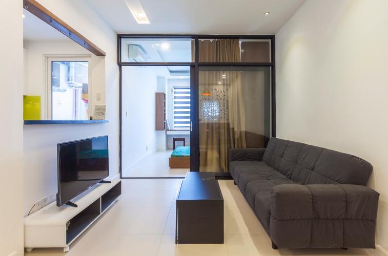 Phòng khách Căn hộ Lexington Residence tầng cao LC đầy đủ nội thất, tiện nghi