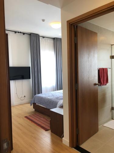 Phòng ngủ Sunrise City, Quận 7 Căn hộ Sunrise City tầng cao, ban công hướng nội khu thoáng mát.