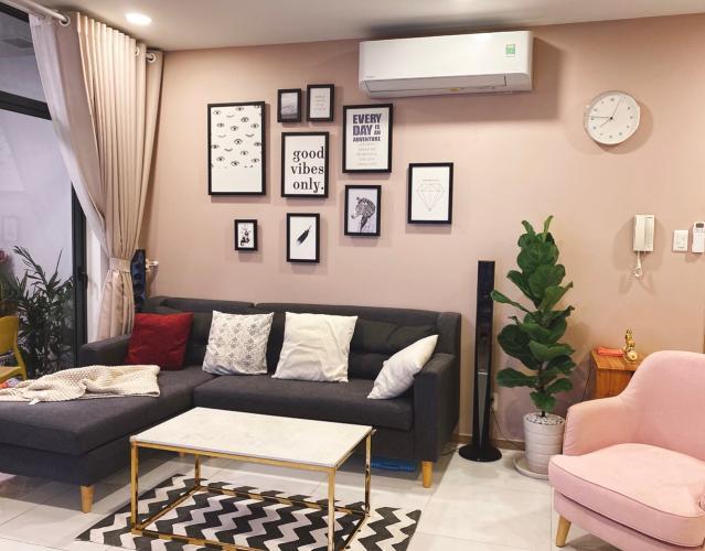 Phòng khách , Căn hộ Riva Park , Quận 4 Căn hộ Riva Park tầng 8 cửa chính hướng Tây Nam, đầy đủ nội thất.