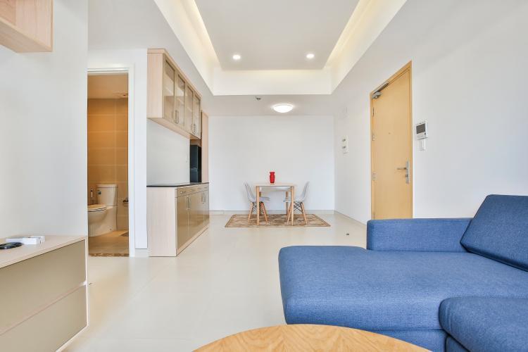 Phòng Khách Căn hộ Masteri Thảo Điền 2 phòng ngủ tầng thấp T5 đầy đủ tiện nghi
