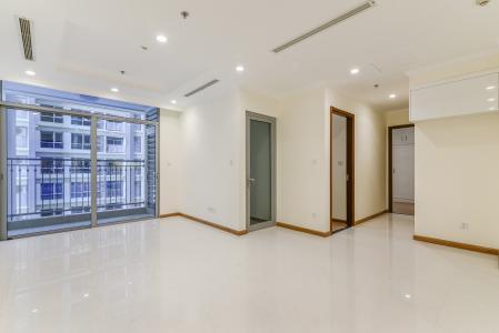 Căn hộ Vinhomes Central Park 2 phòng ngủ tầng thấp L5 nhà trống