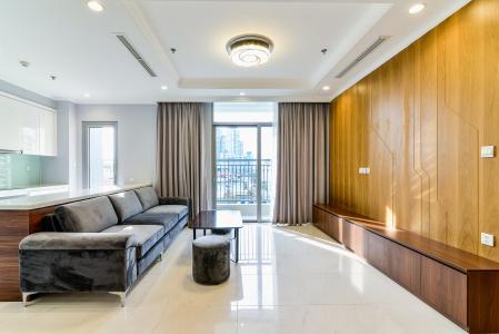 Căn hộ Vinhomes Central Park 3 phòng ngủ tầng thấp C2 hướng Đông Bắc