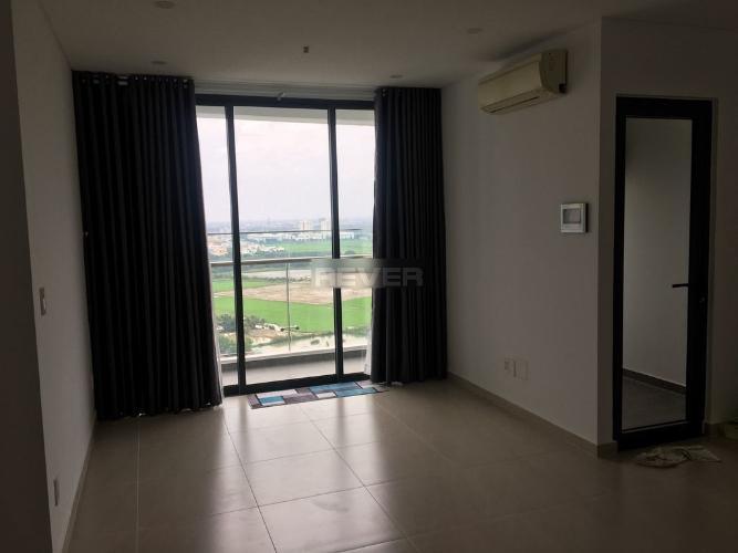 Phòng khách Thủ Thiêm Dragon, Quận 2 Căn hộ Thủ Thiêm Dragon tầng cao, nội thất cơ bản, view nội khu