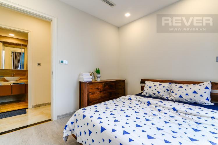 Phòng Ngủ 2 Cho thuê căn hộ Vinhomes Golden River 2PN đầy đủ nội thất, view sông Sài Gòn