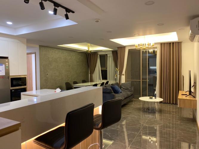 Nội thất căn hộ Saigon South Residence, Nhà Bè Căn hộ Saigon South Residence tầng cao view sông, đầy đủ nội thất.