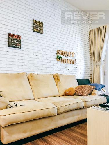 Phòng Khách Căn hộ Docklands Sài Gòn tầng thấp, 3PN đầy đủ nội thất