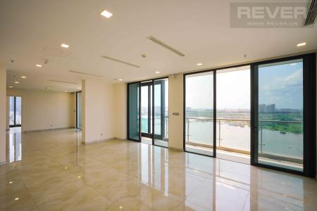 Bán căn hộ Vinhomes Golden River 3PN, ban công Đông Nam, căn góc view sông và thành phố