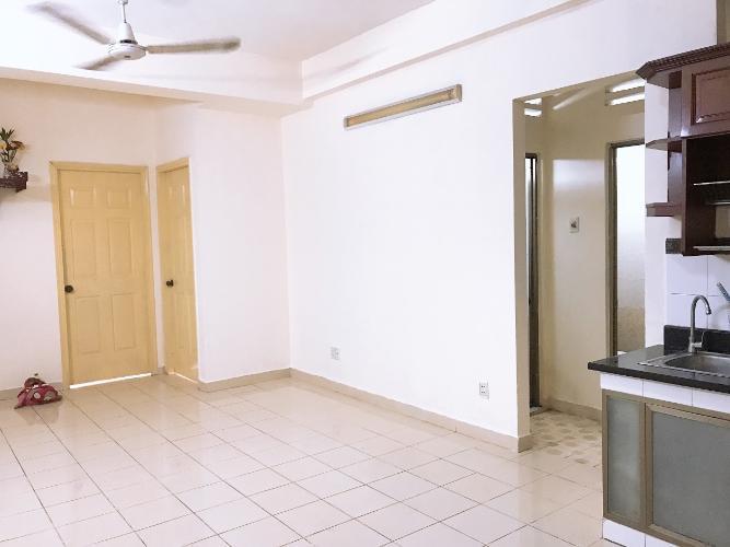 Căn hộ chung cư Gia Phú hướng Tây nội thất cơ bản, view đón gió mát.