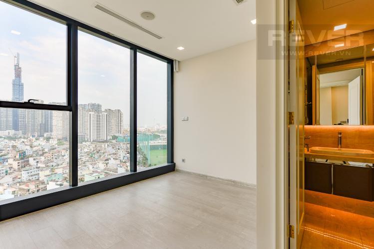 Phòng ngủ 1 Căn hộ Vinhomes Golden River 2 phòng ngủ tầng trung A4 nhà trống