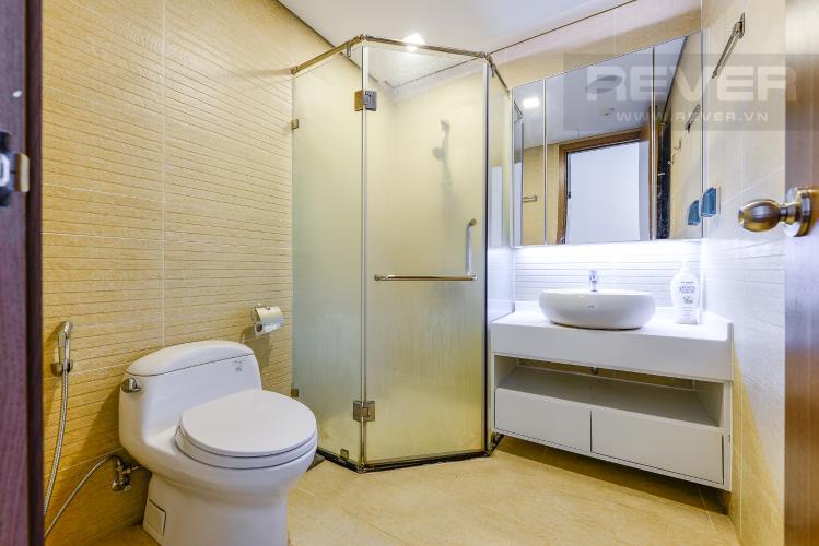 Phòng tắm 1 Căn hộ Vinhomes Central Park tầng cao tòa Park 6, 2 phòng ngủ, full nội thất