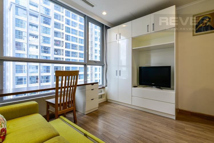 Phòng Ngủ 3 Bán căn hộ Vinhomes Central Park 4PN, tháp The Central 2, đầy đủ nội thất, view sông trực diện