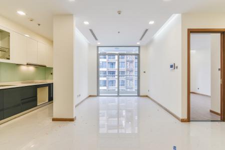 Căn hộ Vinhomes Central 2 phòng ngủ tầng cao P3 view sông