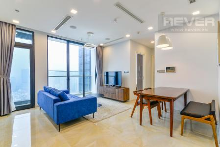 Căn hộ Vinhomes Golden River tầng cao 2PN đầy đủ nội thất, có thể dọn vào ở ngay