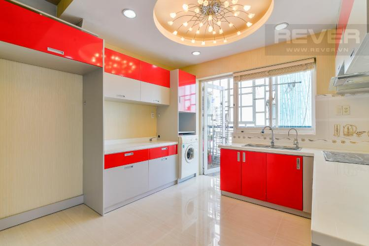 Nhà Bếp Căn hộ D5 Chung cư Thế Hệ Mới 2 phòng ngủ nội thất đầy đủ