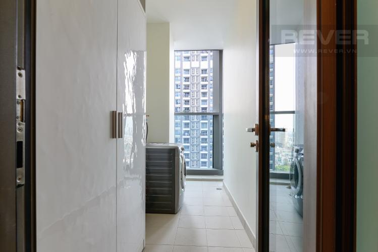 Loggia Cho thuê căn hộ Vinhomes Central Park 48m2, nội thất hạng sang, view thành phố