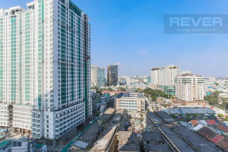 View Officetel RiverGate Residence 1 phòng ngủ tầng trung tháp B nội thất đầy đủ