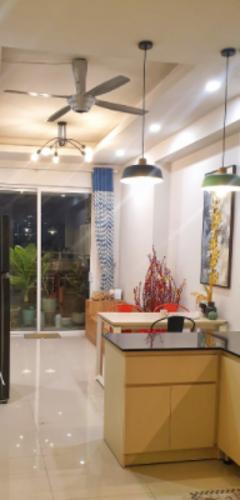 Phòng khách căn hộ Richstar, Tân Phú Căn hộ Richstar ban công hướng Đông bàn giao nội thất đầy đủ.