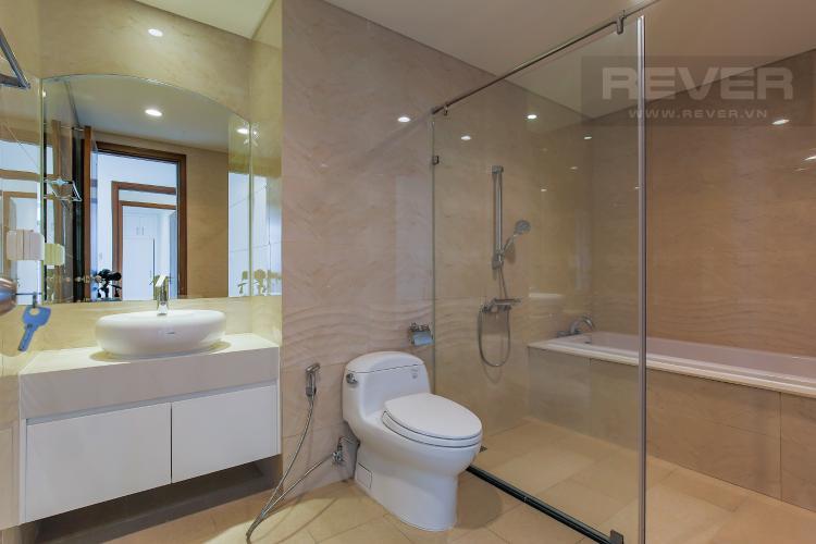 Phòng Tắm 1 Bán căn góc Vinhomes Central Park 3 phòng ngủ tầng trung tháp C3, diện tích lớn 122m2