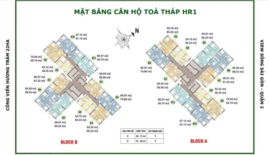 Mặt bằng tầng  căn hộ Eco Green Saigon Căn hộ Eco Green Saigon đầy đủ nội thất, view thành phố sầm uất.