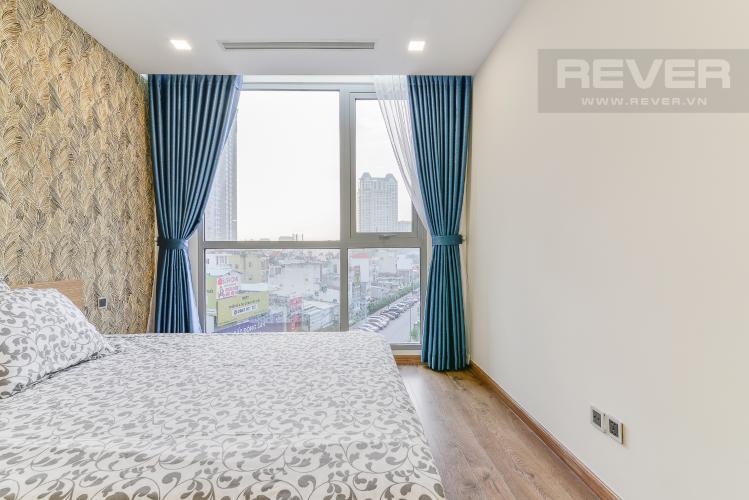 Phòng Ngủ 2 Cho thuê căn hộ Vinhomes Central Park tầng thấp, 2PN, đầy đủ nội thất