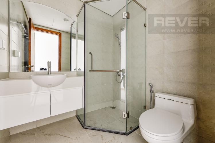 Phòng tắm 1 Căn hộ Vinhomes Central Park 4 phòng ngủ tầng cao C1 view sông