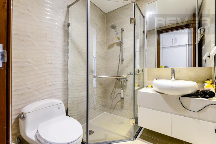 Phòng tắm 1 Căn hộ Vinhomes Central Park tầng cao, 2PN đầy đủ nội thất, view đẹp