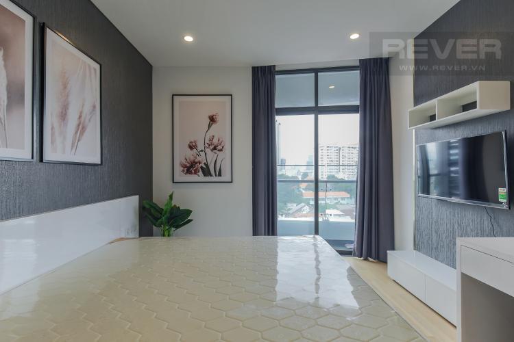 Phòng Ngủ Bán hoặc cho thuê căn hộ City Garden 1PN, tầng thấp, diện tích 65m2, đầy đủ nội thất