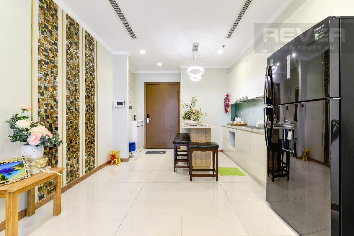 _DSC3967 Bán căn hộ Vinhomes Central Park 1PN, tháp Landmark 3, diện tích 54m2, đầy đủ nội thất, view sông