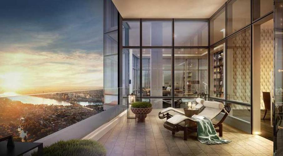 Phối cảnh căn hộ OPAL TOWER Cho thuê căn hộ Opal Tower Bình Thạnh 2 phòng ngủ, tầng thấp, diện tích 88m2