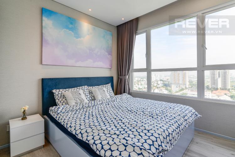 Phòng Ngủ Căn hộ Vista Verde 1 phòng ngủ tầng cao T1 đầy đủ nội thất