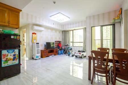 Căn hộ Masteri Thảo Điền 2 phòng ngủ tầng thấp T3 đầy đủ tiện nghi