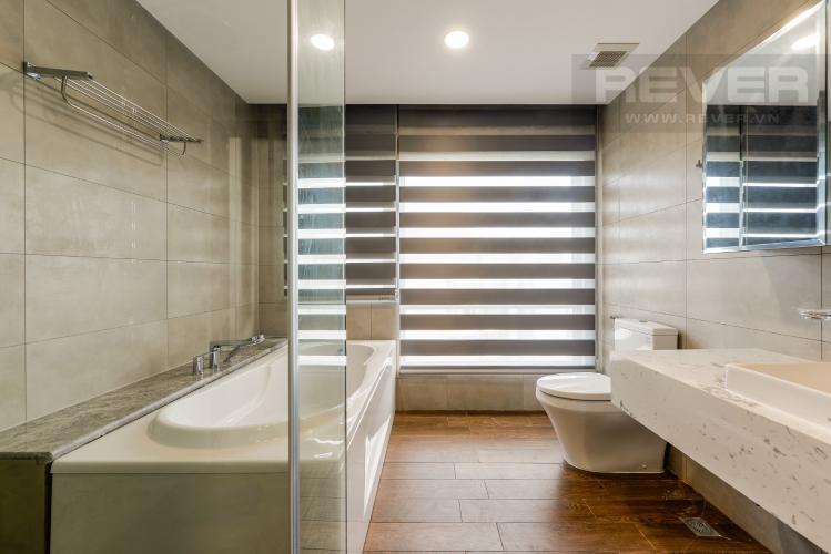 Phòng tắm 1 Penthouse Vinhomes Central Park 2 phòng ngủ tháp C2