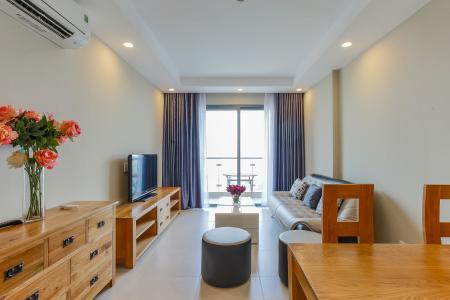 Căn hộ The Gold View 2 phòng ngủ tầng cao A1 view sông