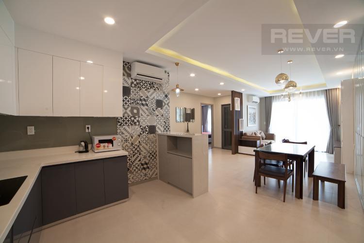 Nhà bếp Căn hộ The Gold View 2 phòng ngủ tầng trung A2 hướng Đông Nam