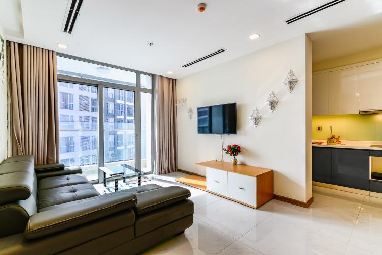 Căn hộ Vinhomes Central Park tầng cao, park 1, 3 phòng ngủ full nội thất
