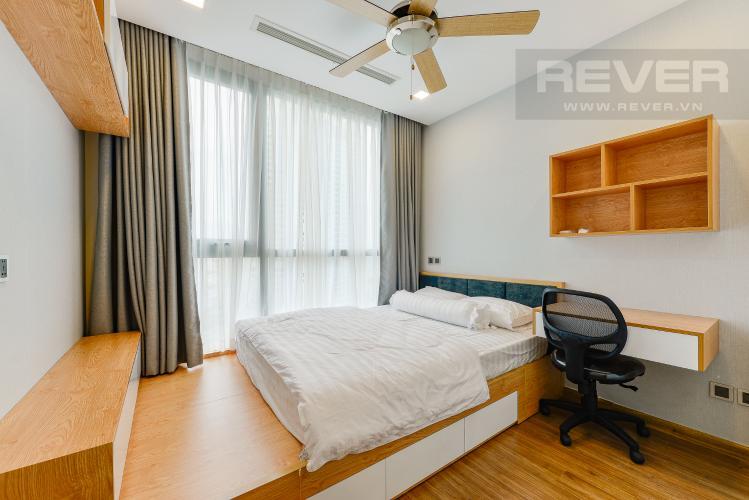 Phòng ngủ 2 Căn hộ Vinhomes Central Park 2 phòng ngủ tầng cao P7 đầy đủ tiện nghi