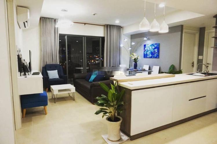 Phòng khách căn hộ Masteri Thảo Điền Căn hộ Masteri Thảo Điền đầy đủ tiện nghi, view thành phố cực thoáng.