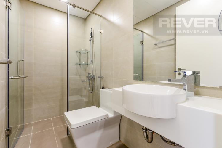 Phòng tắm 1 Cho thuê căn hộ Masteri Millennium tầng cao 2PN đầy đủ nội thất view đẹp