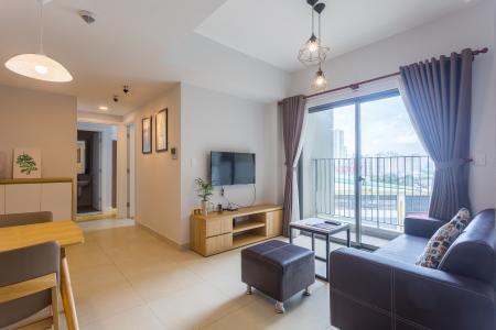Cho thuê căn hộ Masteri Thảo Điền tầng trung, 2PN, tháp T1, đầy đủ nội thất