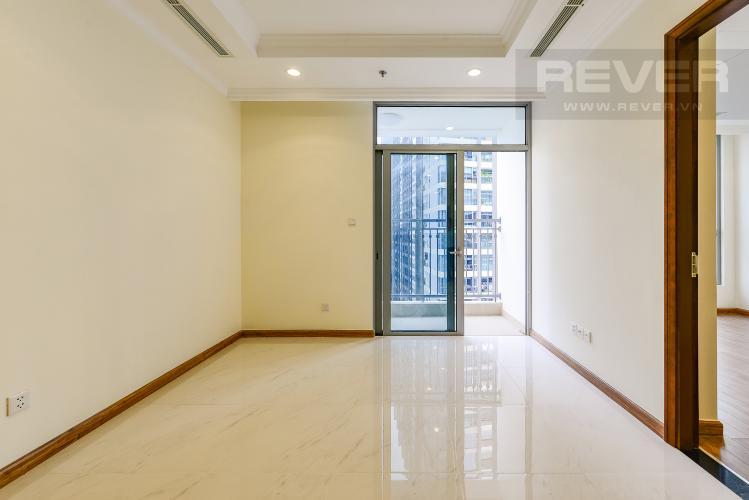 Phòng khách Căn hộ Vinhomes Central Park 2 phòng ngủ tầng cao L1 view sông