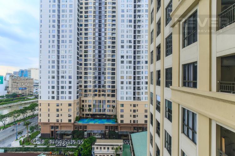 View Cho thuê căn hộ Icon 56 tầng trung, 1PN đầy đủ nội thất