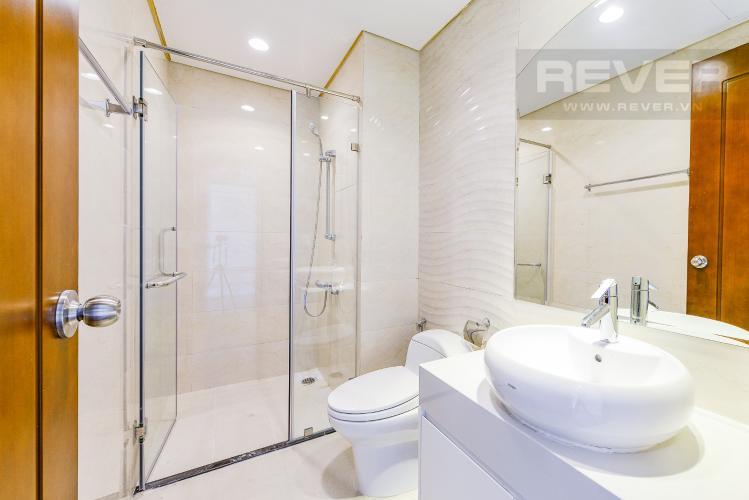 Phòng tắm 2 Căn hộ Vinhomes Central Park 2 phòng ngủ tầng cao C3 nhà trống