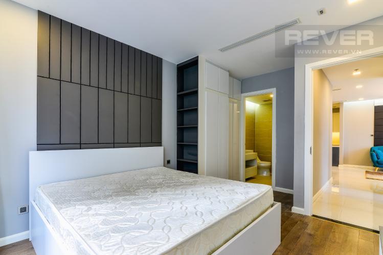 Phòng Ngủ 1 Căn hộ Vinhomes Central Park tầng cao, Park 3, 3 phòng ngủ, full nội thất