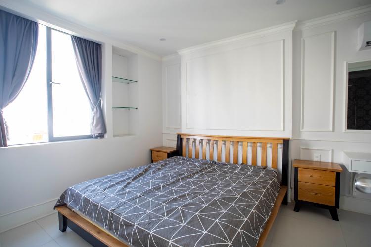Phòng ngủ căn hộ dịch vụ Trần Não, Quận 2 Căn hộ dịch vụ Trần Não nội thất tiện nghi, thiết kế tân cổ điển.